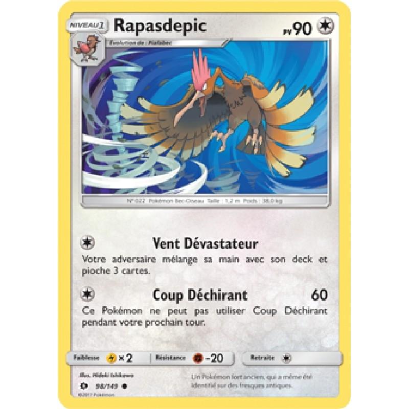 Rapasdepic 98/149 PV90 Carte Pokémon™ commune neuve VF