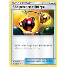 Récupération d'Energie...