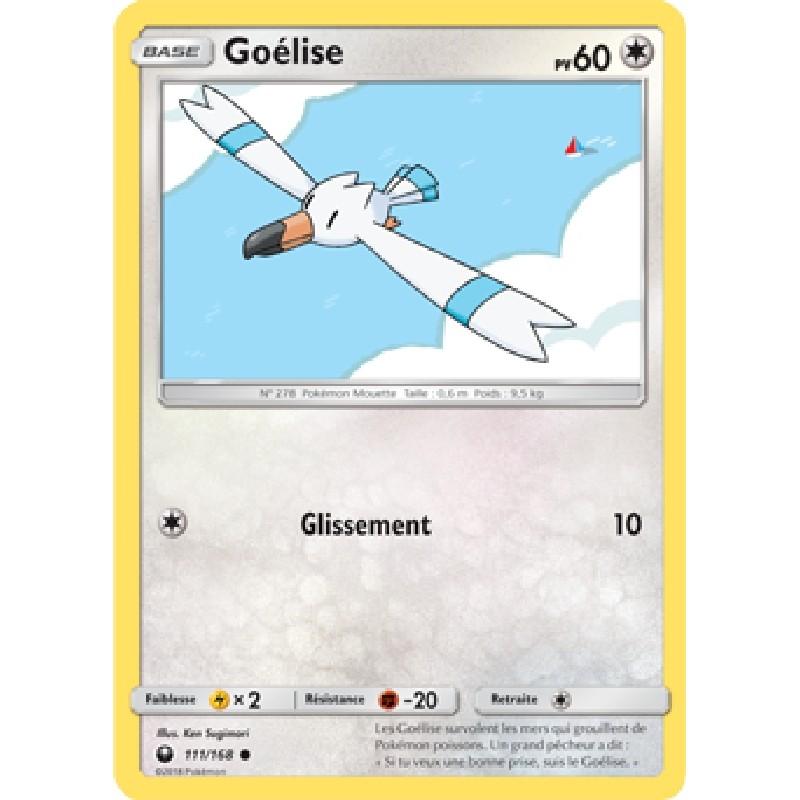 Goélise 111/168 PV60 Carte Pokémon™ commune neuve VF