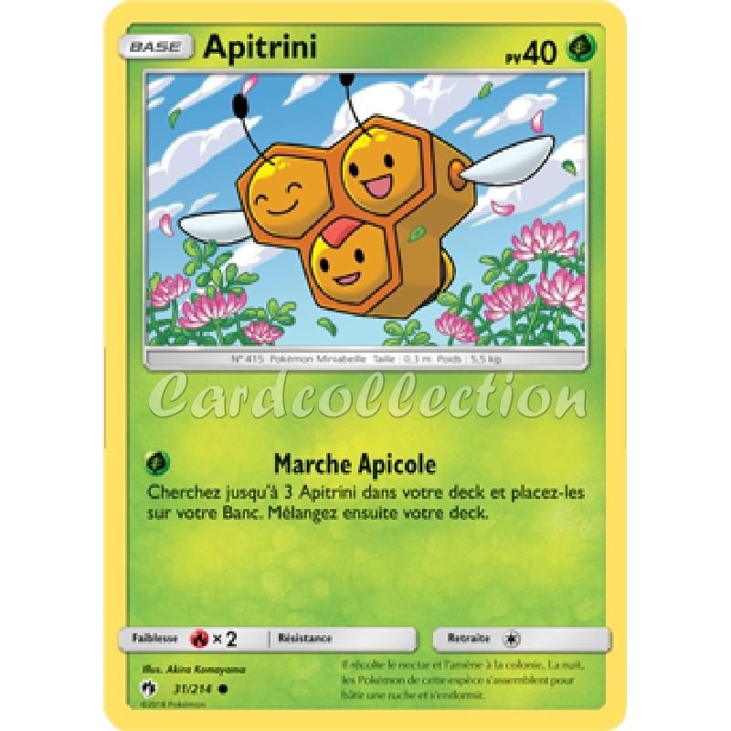 Apitrini 31/214 PV40 Carte Pokémon™ commune neuve VF