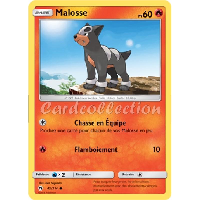 Malosse 45/214 PV60 Carte Pokémon™ commune neuve VF