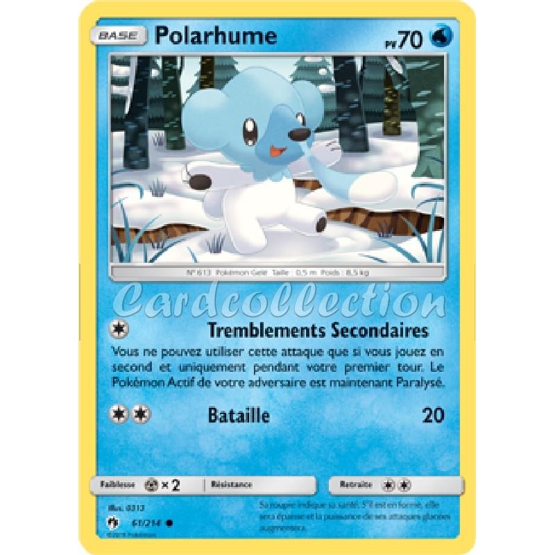Polarhume 61/214 PV70 Carte Pokémon™ commune neuve VF