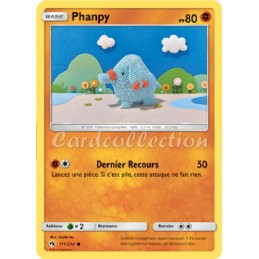 Phanpy 111/214 PV80 Carte...