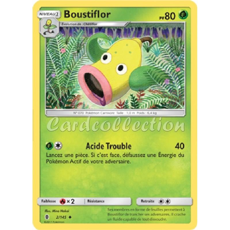 Boustiflor 2/145 PV80 Carte Pokémon™ peu commune Neuve VF
