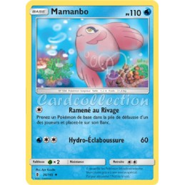 Mamanbo 36/145 PV110 Carte Pokémon™ peu commune Neuve VF