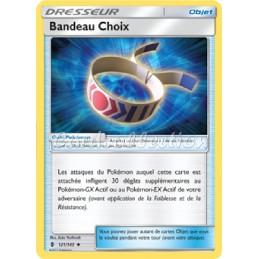 Bandeau Choix 121/145 Carte Pokémon™ Dresseur Neuve VF