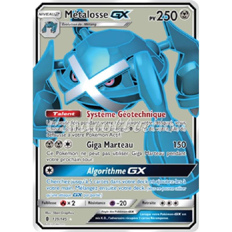 Métalosse-GX 139/145 PV250 Carte Pokémon™ Ultra rare Neuve VF