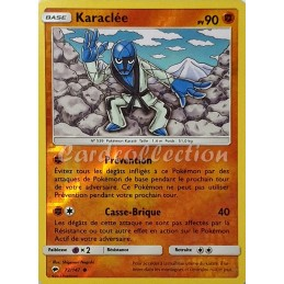 Karaclée 72/147 PV90 Carte...