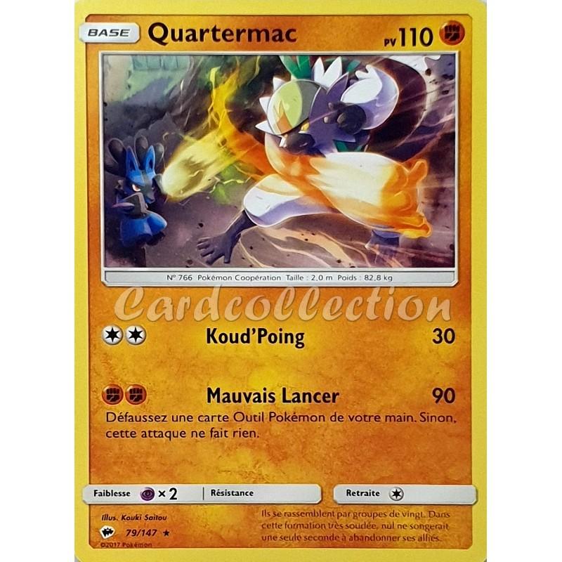 Quartermac 79/147 PV110 Carte Pokémon™ rare Neuve VF