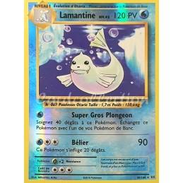 Lamantine 29/108 PV120 Carte Pokémon™ reverse rare Neuve VF