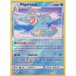 Aligatueur 24/70 PV160 Carte Pokémon™ rare holo Reverse Neuve VF