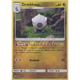 Drackhaus 43/70 PV80 Carte Pokémon™ peu commune reverse Neuve VF