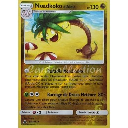 Noadkoko d'Alola 95/156 PV130 Carte Pokémon™ rare reverse Neuve VF