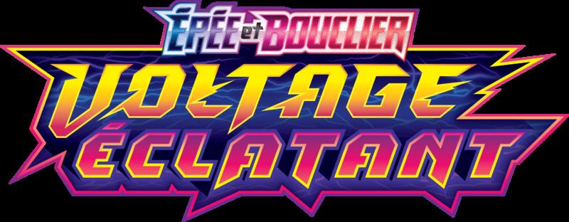 Logo Voltage Eclatant EB4 Pokémon TCG
